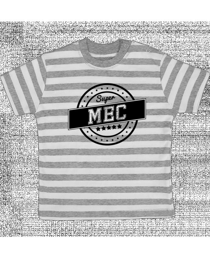 T-shirt Bébé à Rayures Super mec par justsayin