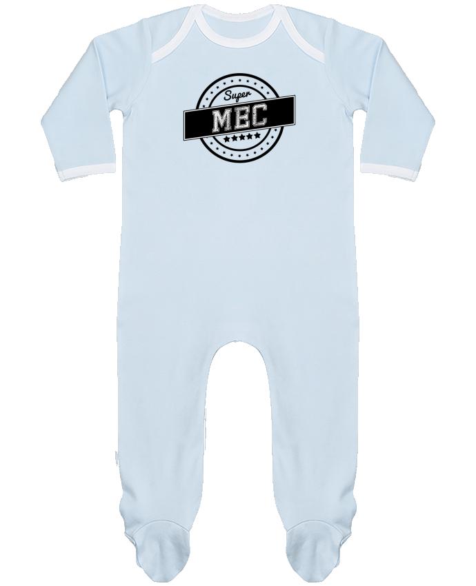 Pyjama Bébé Manches Longues Contrasté Super mec par justsayin