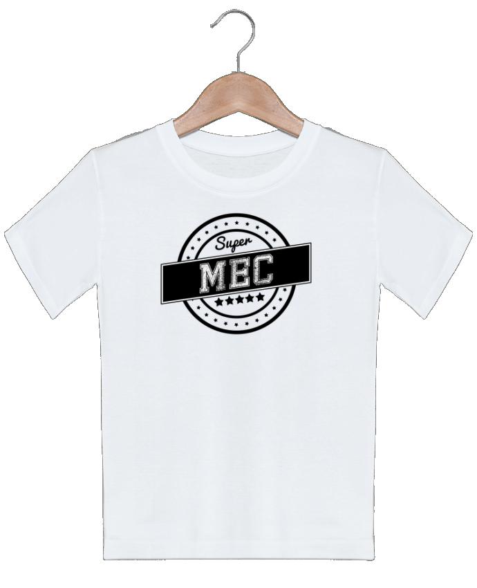 T-shirt garçon motif Super mec justsayin