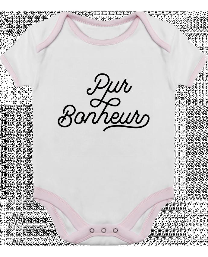 Body Bébé Contrasté Pur bonheur par Les Caprices de Filles