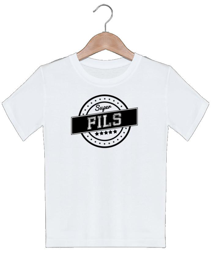 T-shirt garçon motif Super fils justsayin
