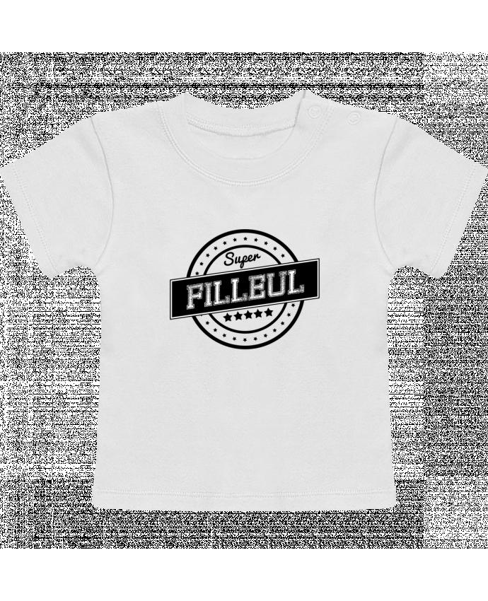 T-Shirt Bébé Manches Courtes Super filleul manches courtes du designer justsayin