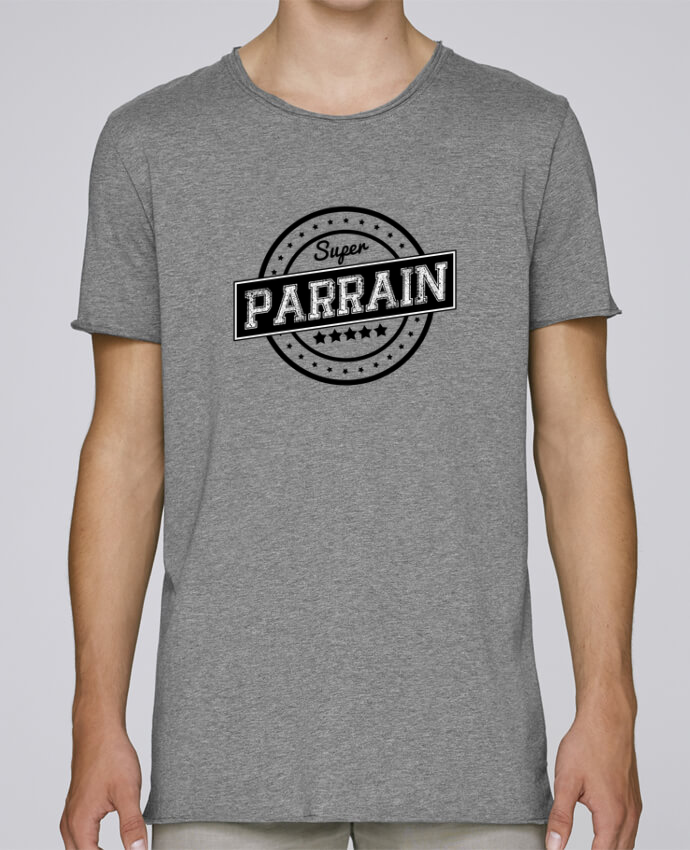 T-shirt Homme Oversized Stanley Skates Super parrain par justsayin