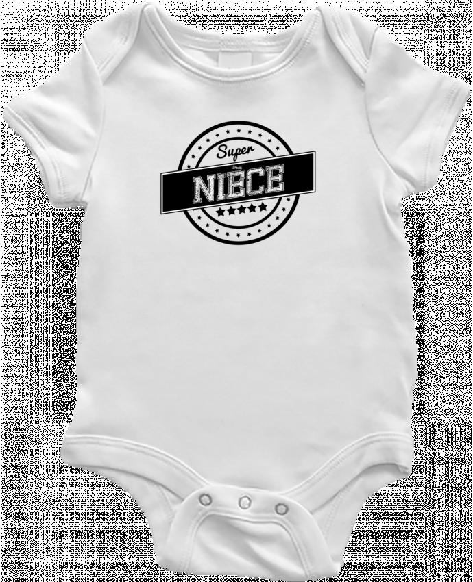 Body Bébé Super nièce par justsayin