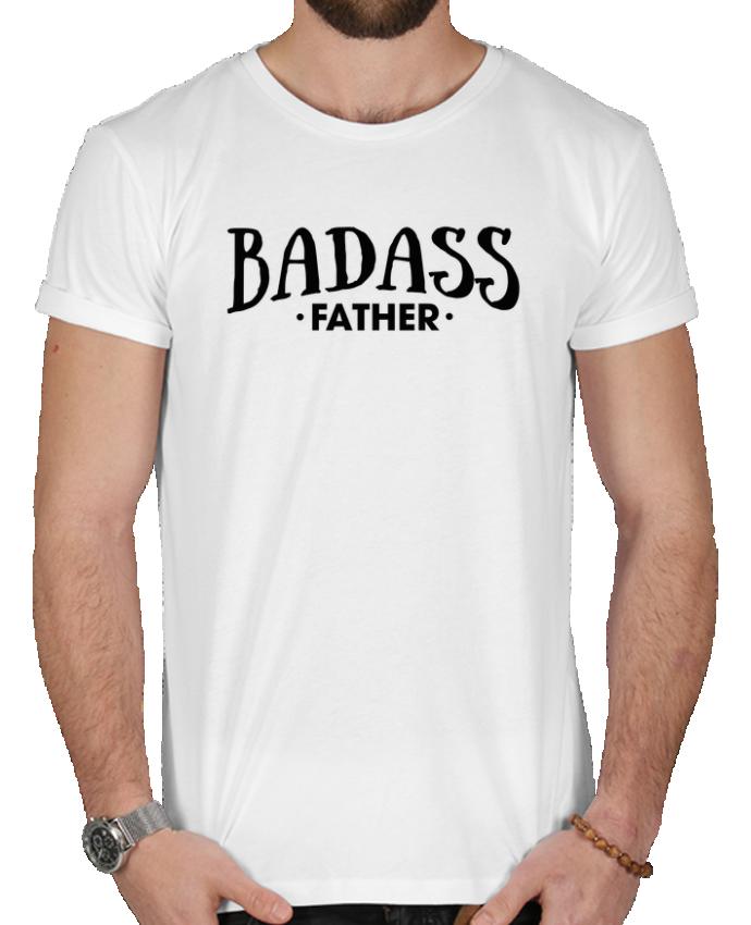 T-shirt  Homme 180g Badass Father par tunetoo
