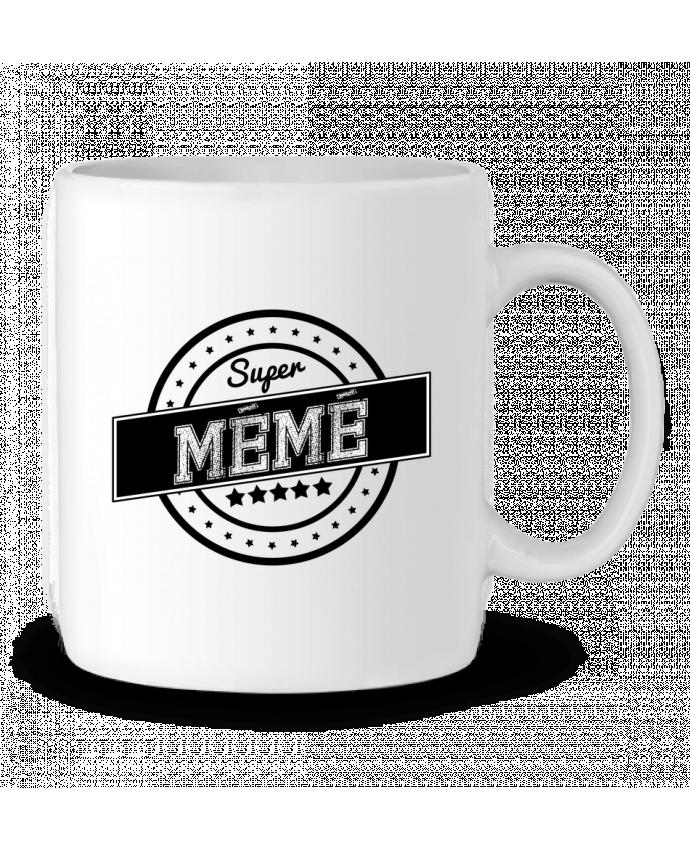 Mug en Céramique Super mémé par justsayin