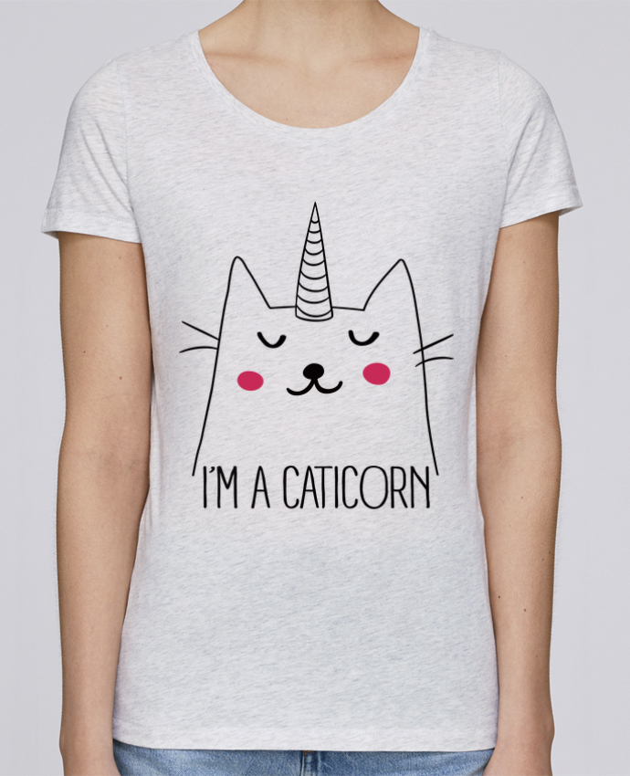 T-shirt Femme Stella Loves I'm a Caticorn par Freeyourshirt.com