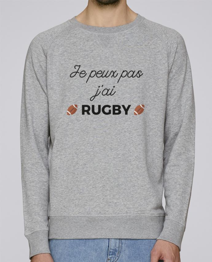 Sweat Col Rond Homme Stanley Strolls Je peux pas j'ai Rugby par Ruuud