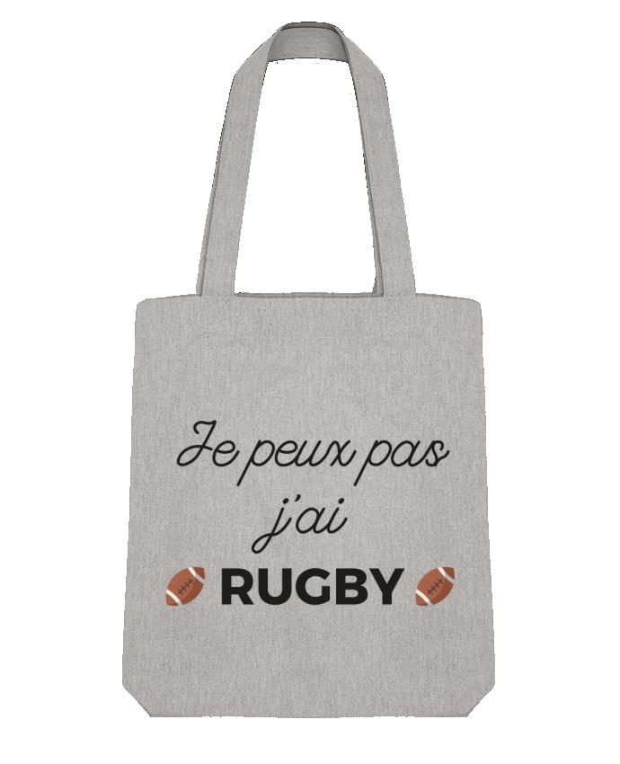 Tote Bag Stanley Stella Je peux pas j'ai Rugby par Ruuud