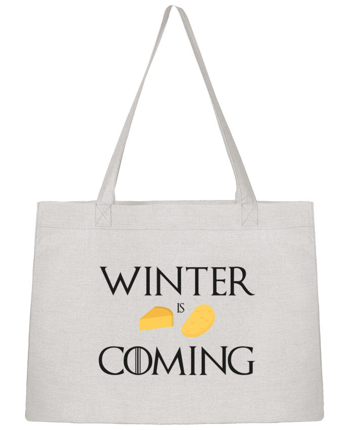 Sac Cabas Shopping Stanley Stella Winter is coming par Ruuud