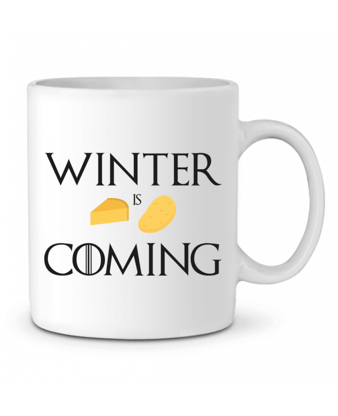 Mug en Céramique Winter is coming par Ruuud