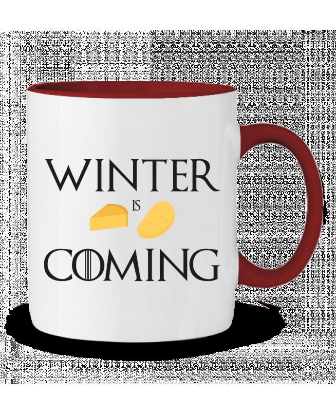 Mug en Céramique Bicolore Winter is coming Ruuud