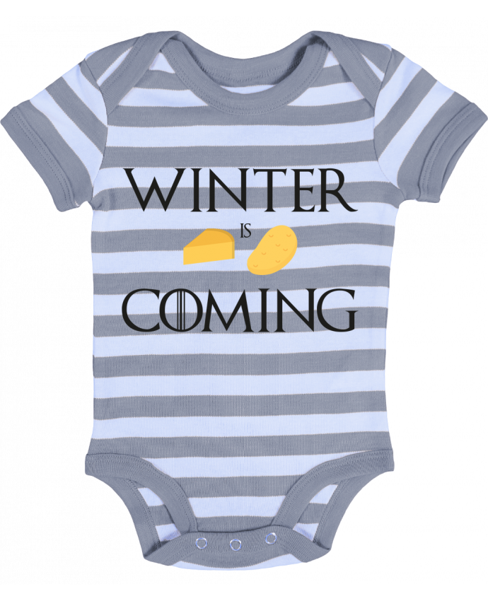 Body Bébé à Rayures Winter is coming - Ruuud