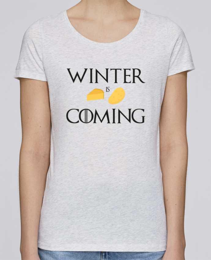 T-shirt Femme Stella Loves Winter is coming par Ruuud