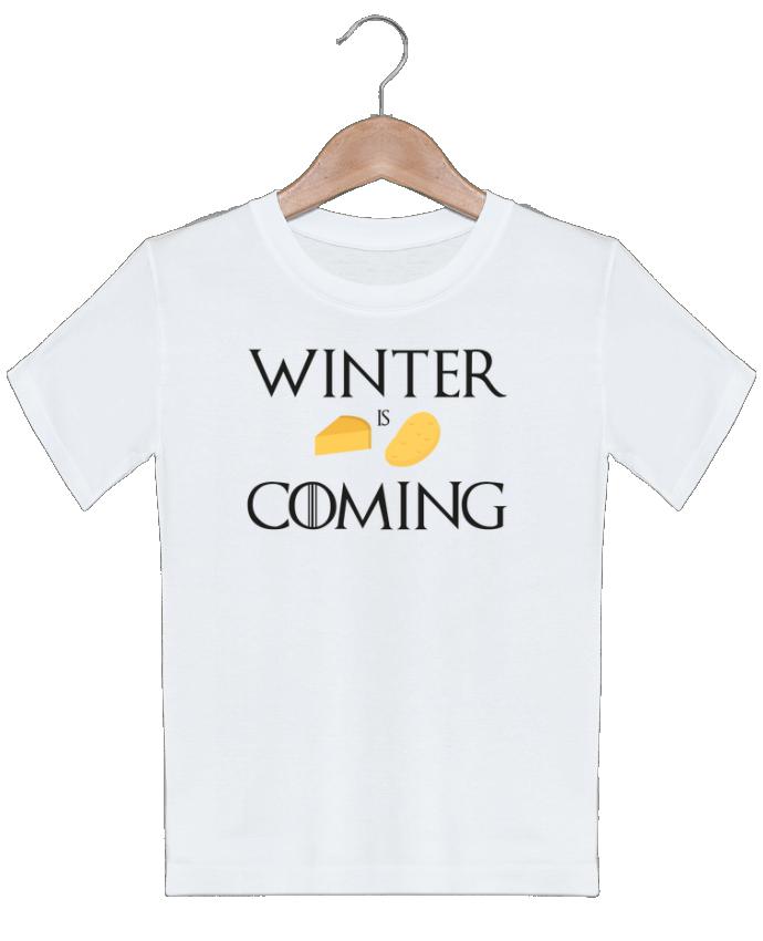 T-shirt garçon motif Winter is coming Ruuud