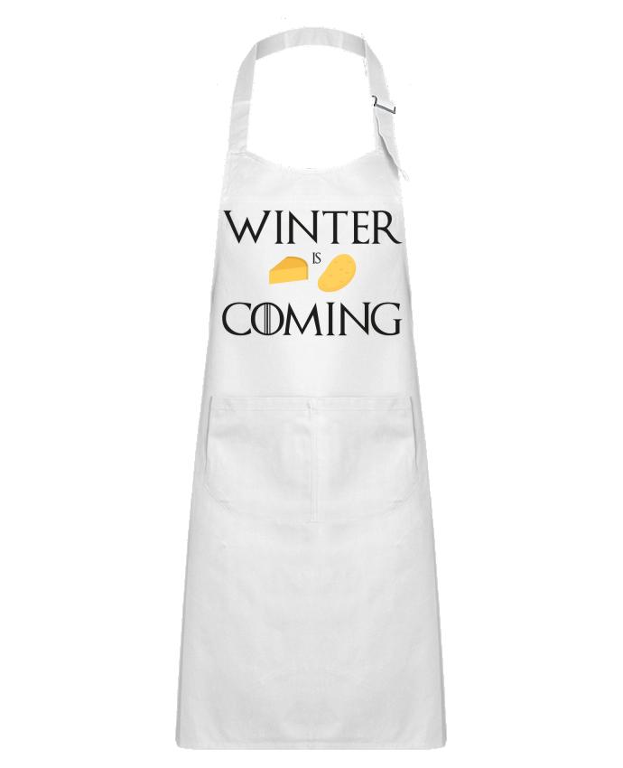 Tablier Enfant avec Poche Winter is coming par Ruuud