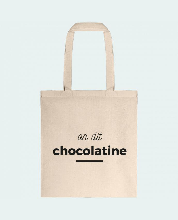 Sac en Toile Coton On dit chocolatine par Ruuud
