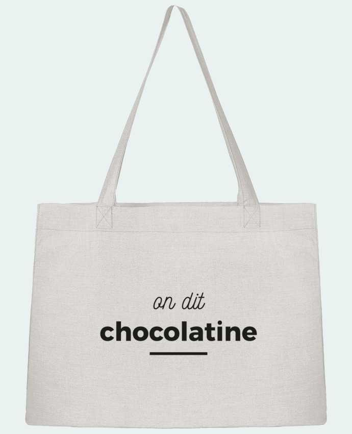 Sac Cabas Shopping Stanley Stella On dit chocolatine par Ruuud