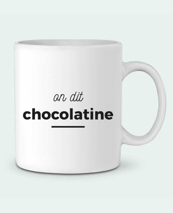 Mug en Céramique On dit chocolatine par Ruuud