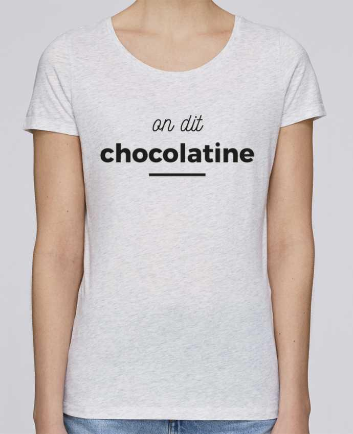 T-shirt Femme Stella Loves On dit chocolatine par Ruuud
