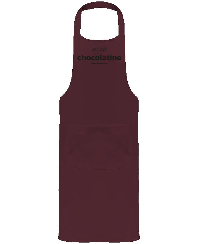 Tablier de Jardinier ou Sommelier avec Poche On dit chocolatine par Ruuud