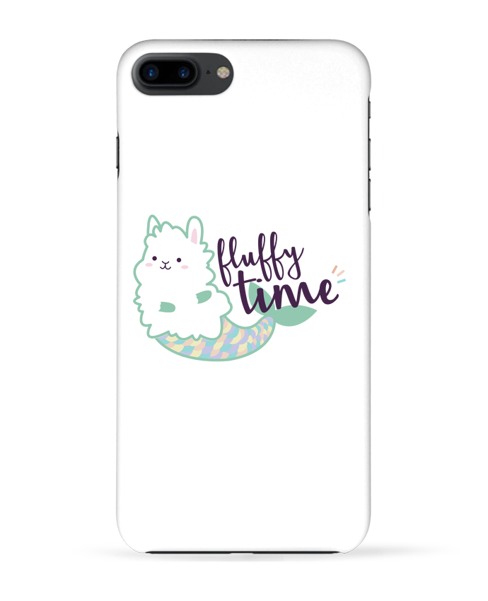 Coque 3D Iphone 7+ Mermaid Fluffy par Nana