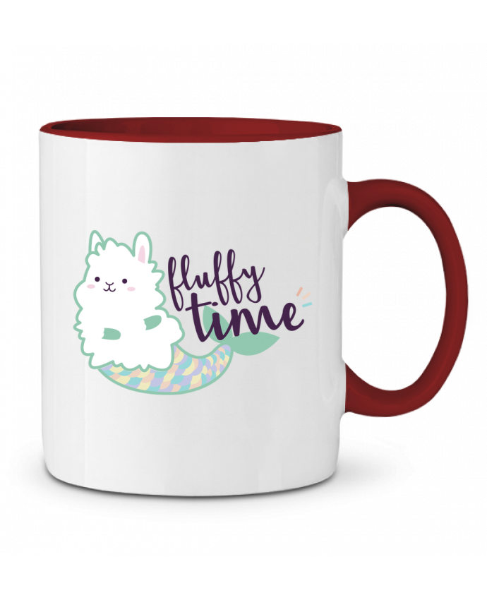 Mug en Céramique Bicolore Mermaid Fluffy Nana