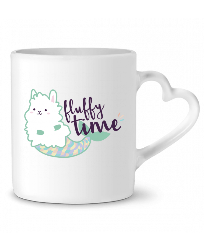 Mug Coeur Mermaid Fluffy par Nana
