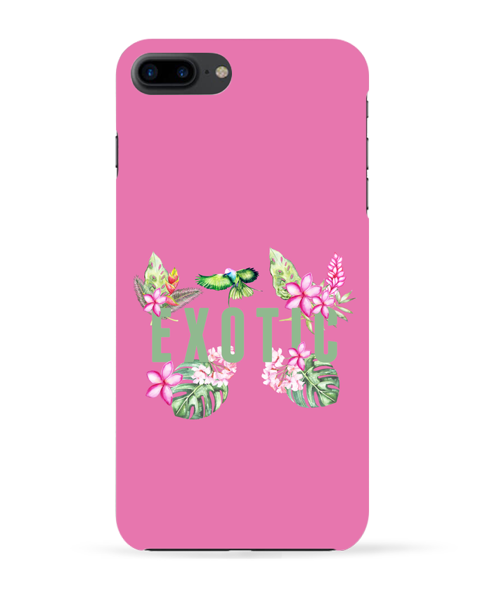 Coque 3D Iphone 7+ Exotic par Les Caprices de Filles
