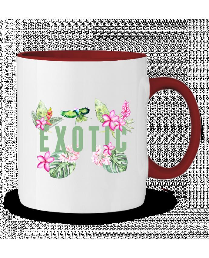 Mug en Céramique Bicolore Exotic Les Caprices de Filles
