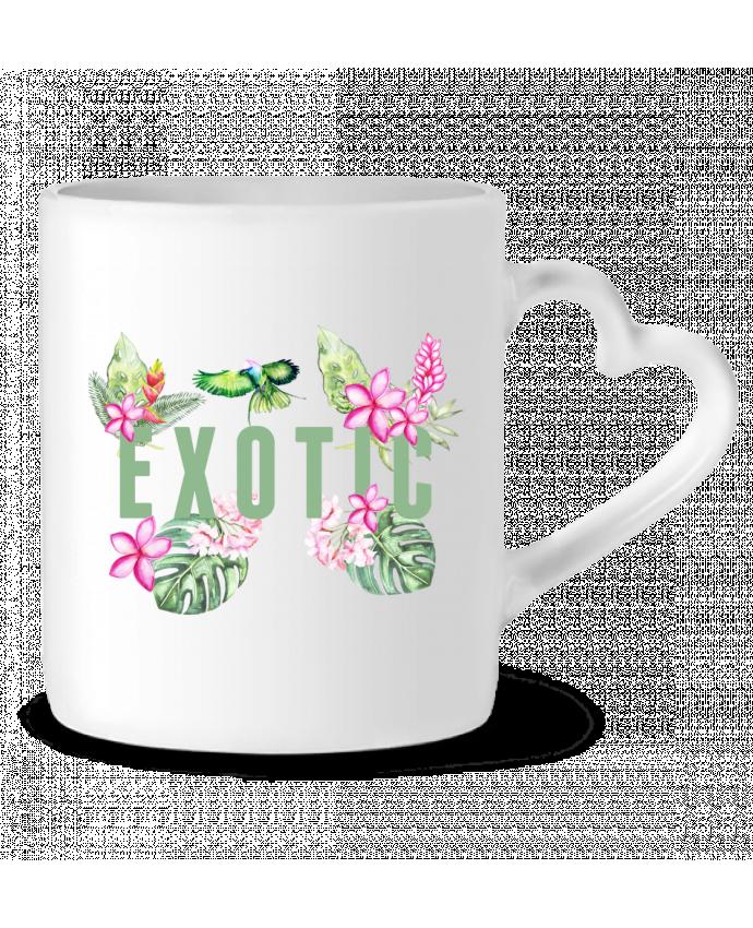 Mug Coeur Exotic par Les Caprices de Filles