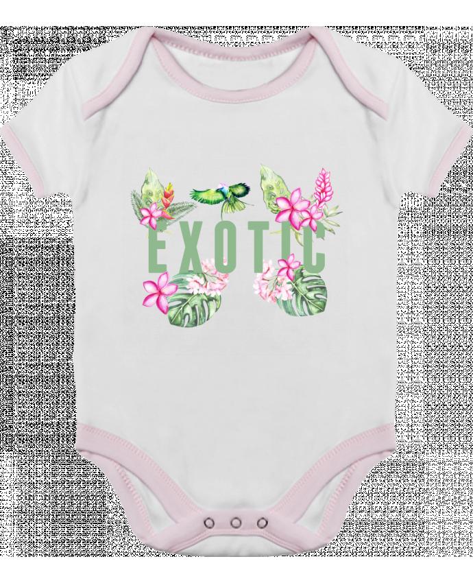 Body Bébé Contrasté Exotic par Les Caprices de Filles