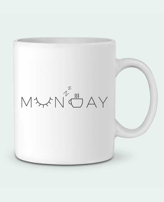 Mug en Céramique Monday par Ruuud