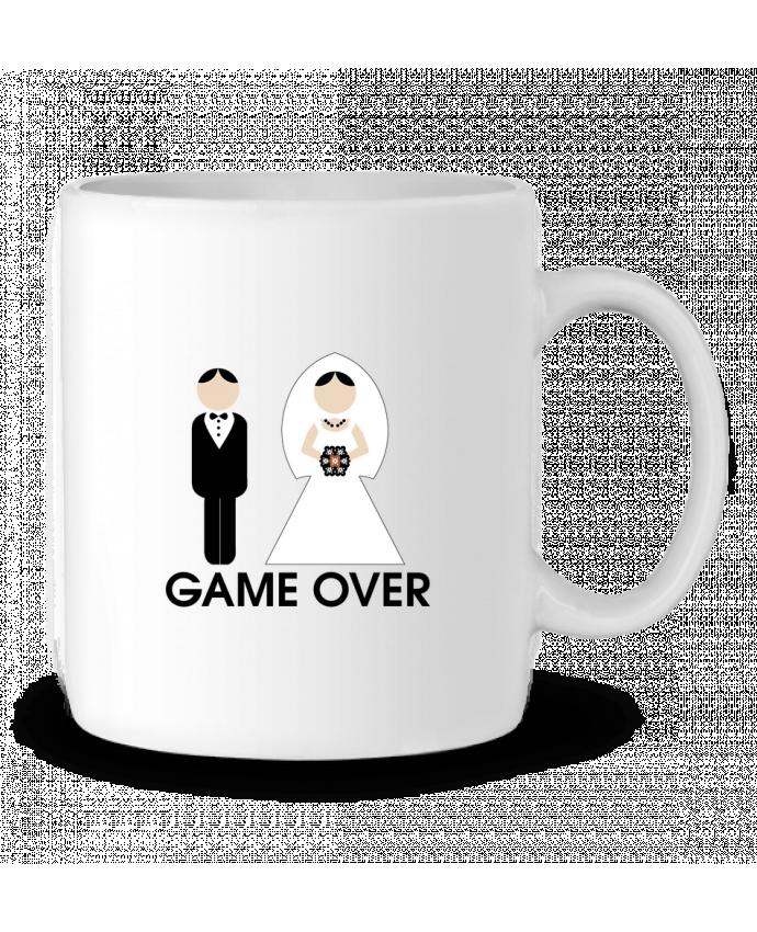 Mug en Céramique game over mariage par DUPOND jee