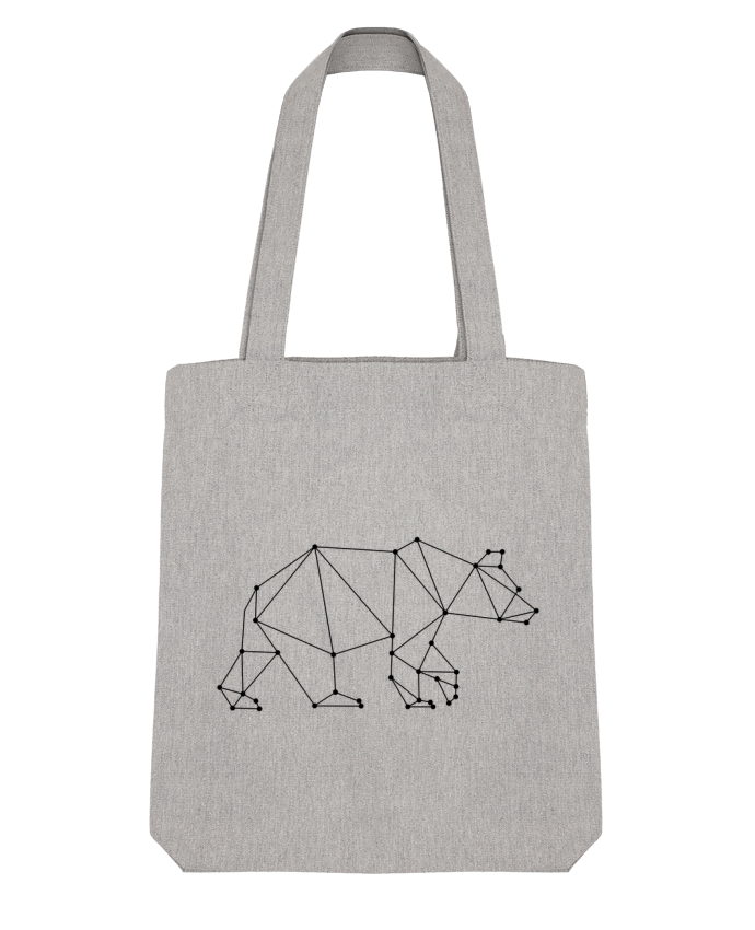 Tote Bag Stanley Stella Bear origami par /wait-design