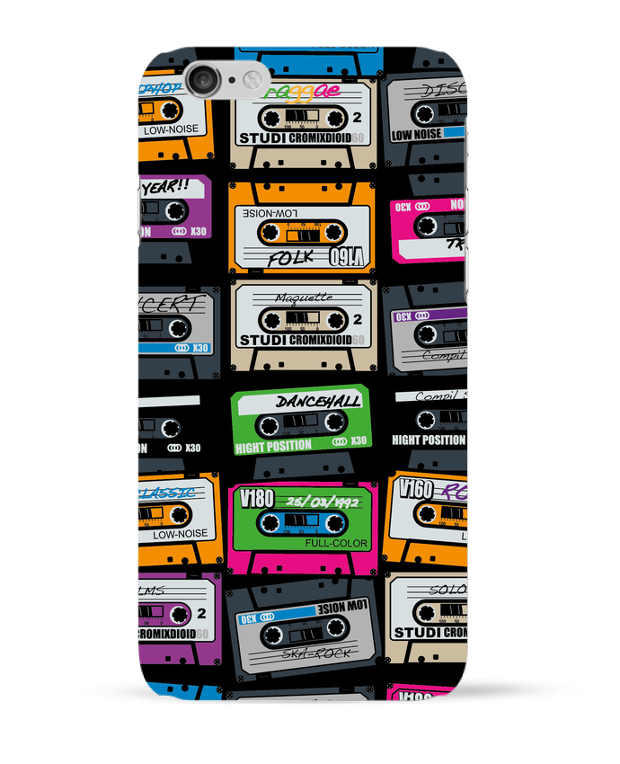 Coque 3D Iphone 6 My First Playlist par PDT