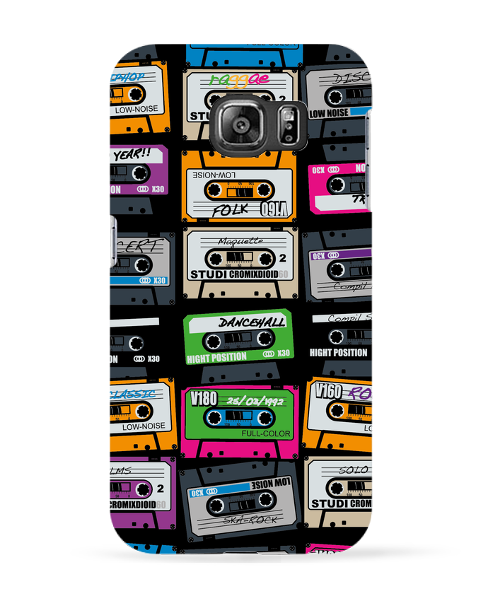 Coque 3D Samsung Galaxy S6 My First Playlist - PDT