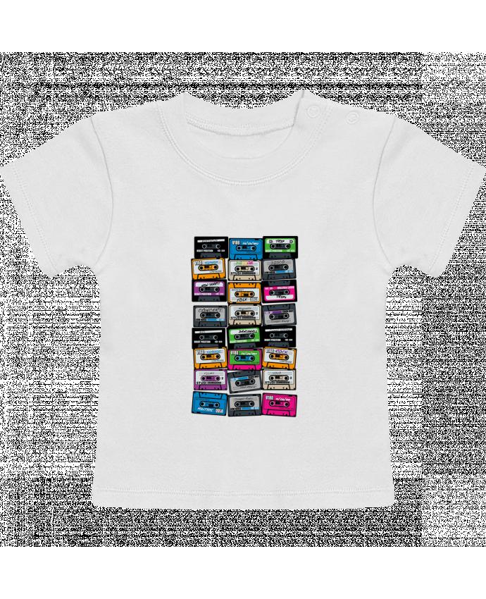 T-Shirt Bébé Manches Courtes My First Playlist manches courtes du designer PDT