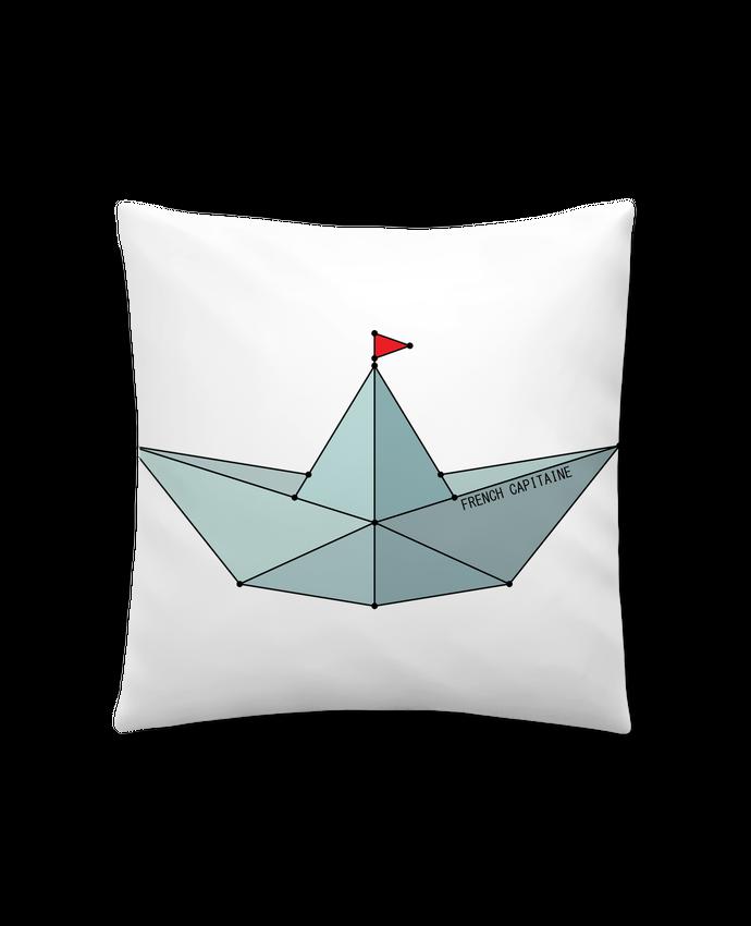 Coussin Synthetique Doux 41 X 41 Cm Bateau Origami Wait Design