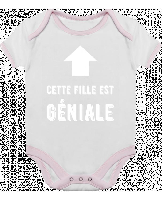487f63a136340 Body Bébé Contrasté fille géniale t-shirt humour cadeau par Original t-shirt