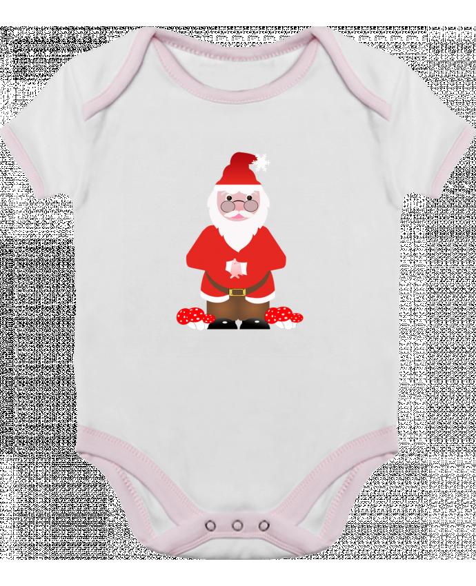 dbdd67fd44a06 Body Bébé Contrasté Père Noël par Les Caprices de Filles