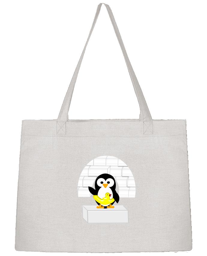 Sac Cabas Shopping Stanley Stella Le Pingouin par Les Caprices de Filles