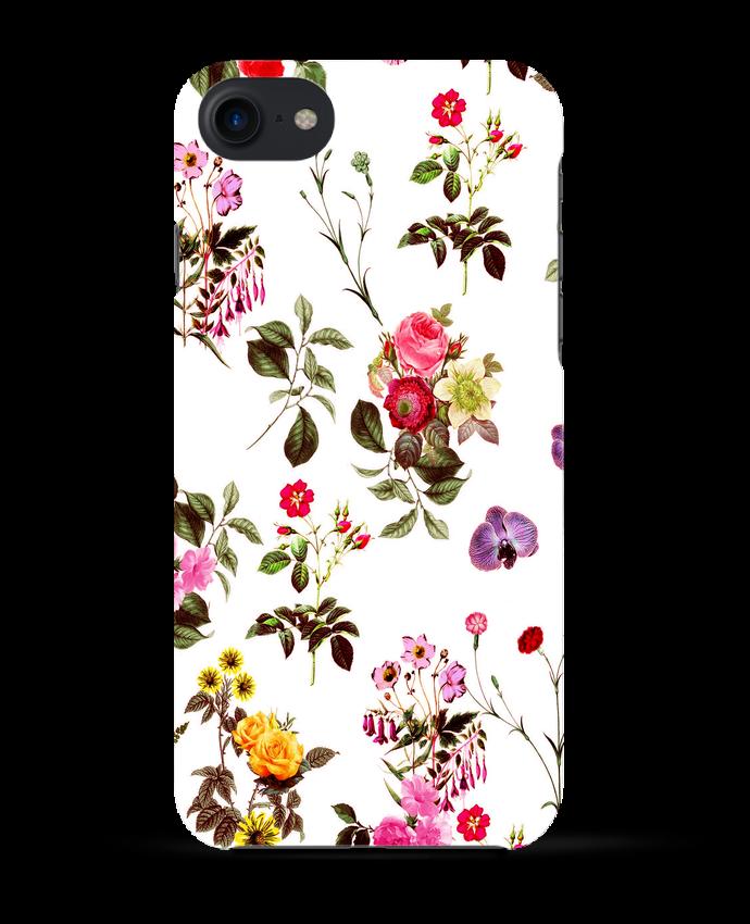 coque fleuri iphone 7
