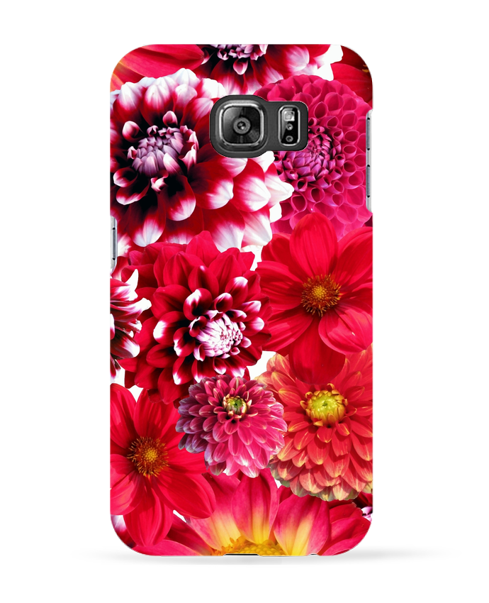 coque galaxy s6 fleurs