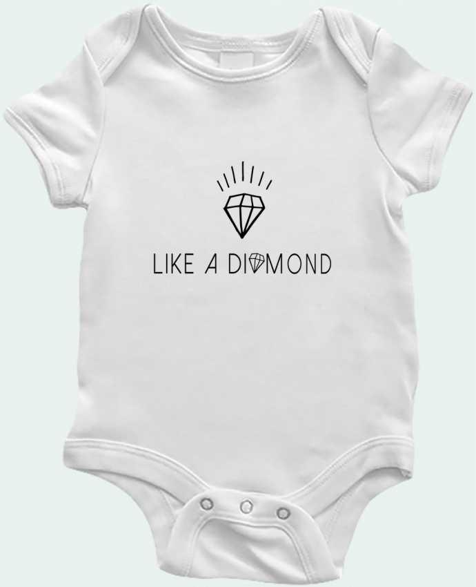 Body Bébé Like a diamond par Les Caprices de Filles