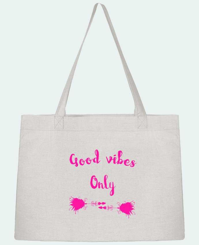 Sac Cabas Shopping Stanley Stella Good vibes only par Les Caprices de Filles