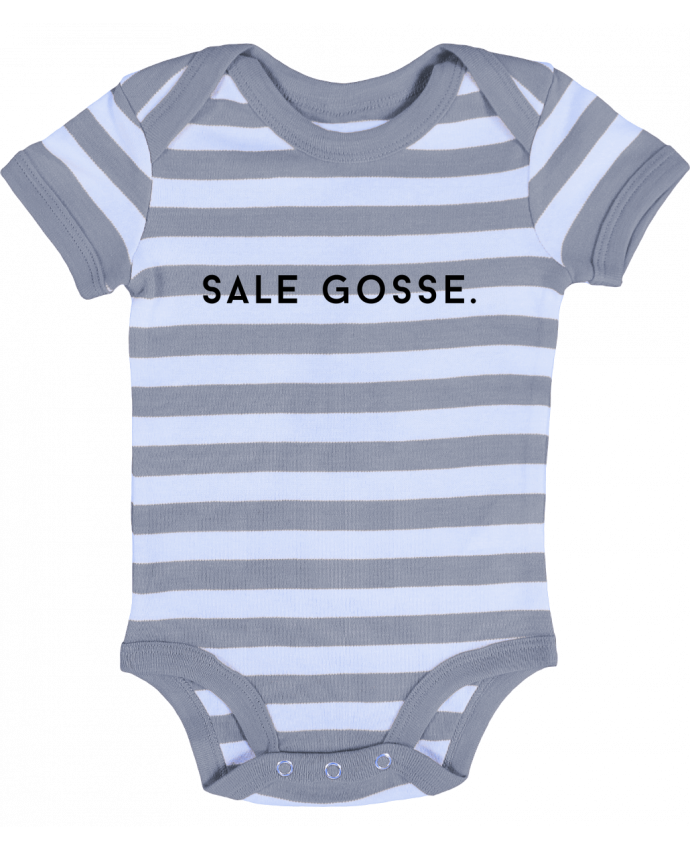 Body Bébé à Rayures SALE GOSSE. - Graffink
