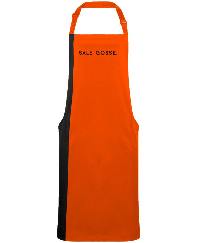 Tablier Long Bicolore SALE GOSSE. par  Graffink