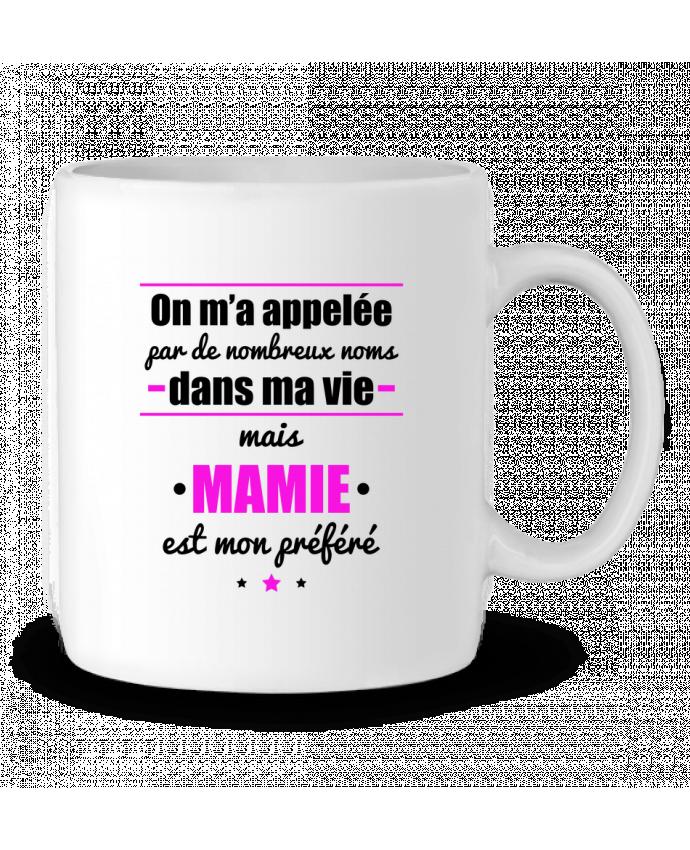 Mug en Céramique On m'a appelé par de nombreux noms dans ma vie mais mamie est mon préféré par Benichan
