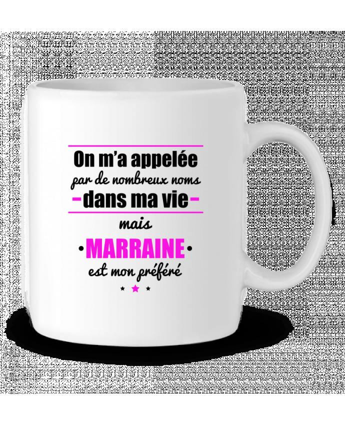 Mug en Céramique On m'a appelé par de nombreux noms dans ma vie mais marraine est mon préféré par Benichan
